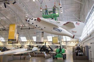 Latest Mock SpaceShipOne Soars Above Sponsor's Museum