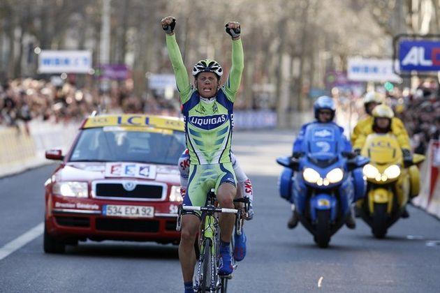 Paris Nice 2008 stage 3 Kjell Carlstrom