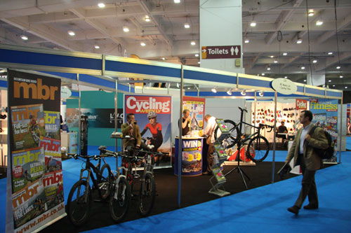 CW stand, Cycle Show 2009, Earls Court