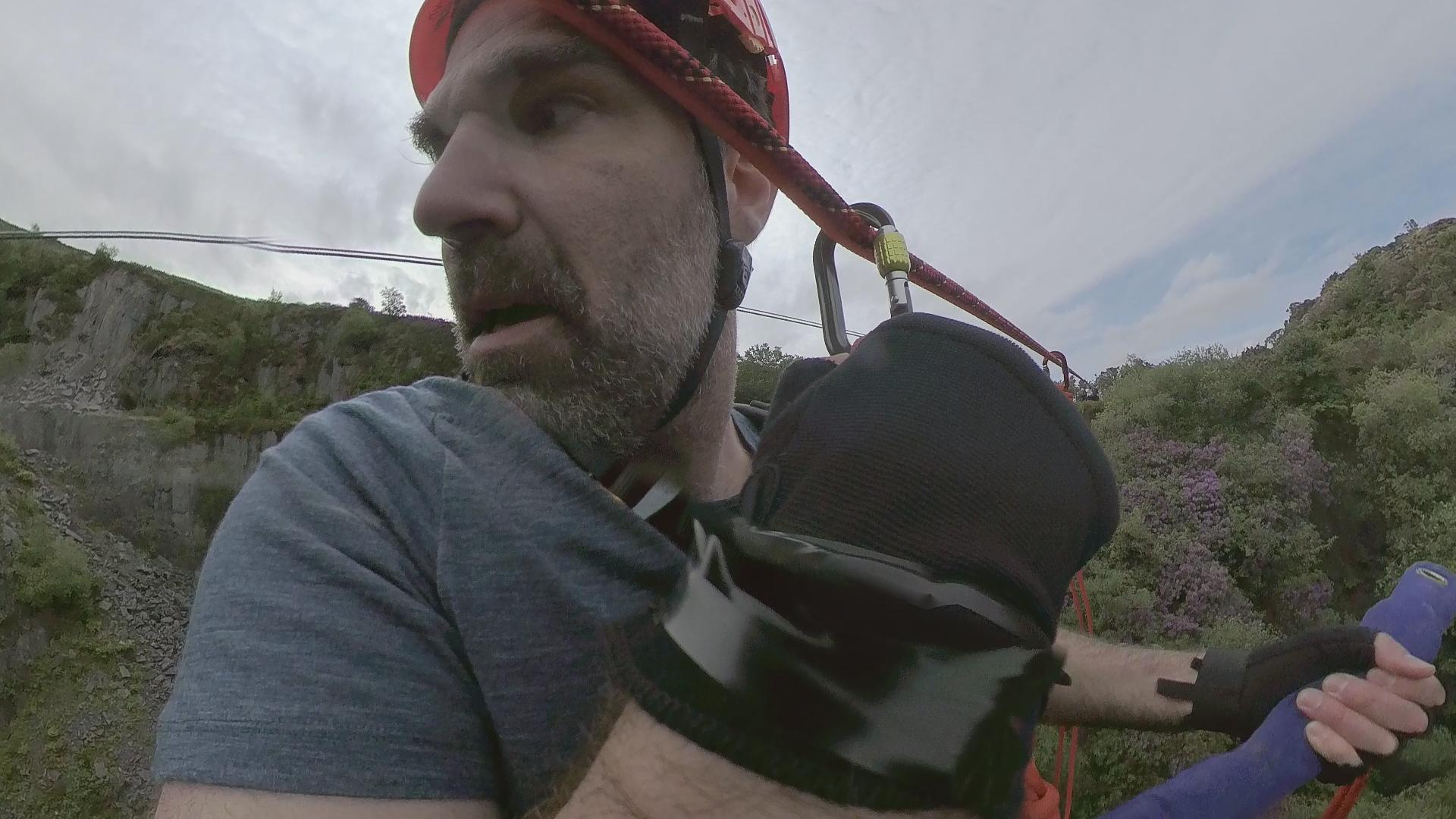 A bit of a fright? Rob Delaney hangs about!