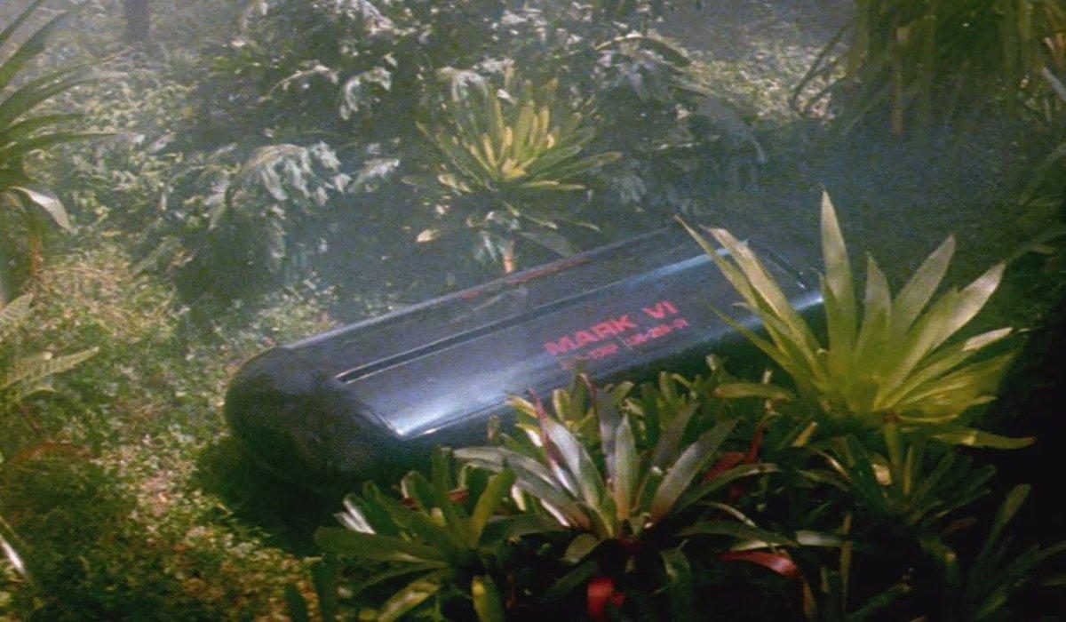 Star Trek Spock's coffin on the Genesis planet