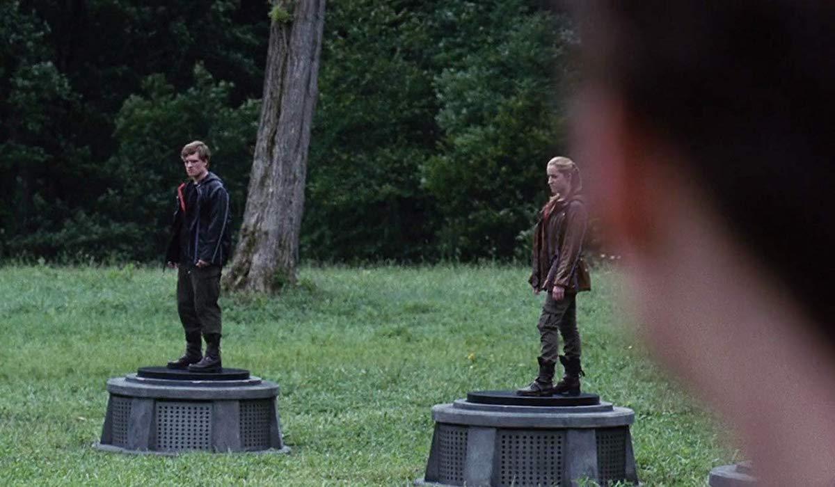 Josh Hutcherson as Peeta in The Hunger Games