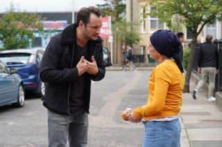 EastEnders Martin Fowler heads to the Slaters Friday 22nd November