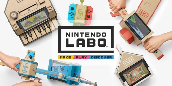 A bunch of Nintendo Labo contraptions.