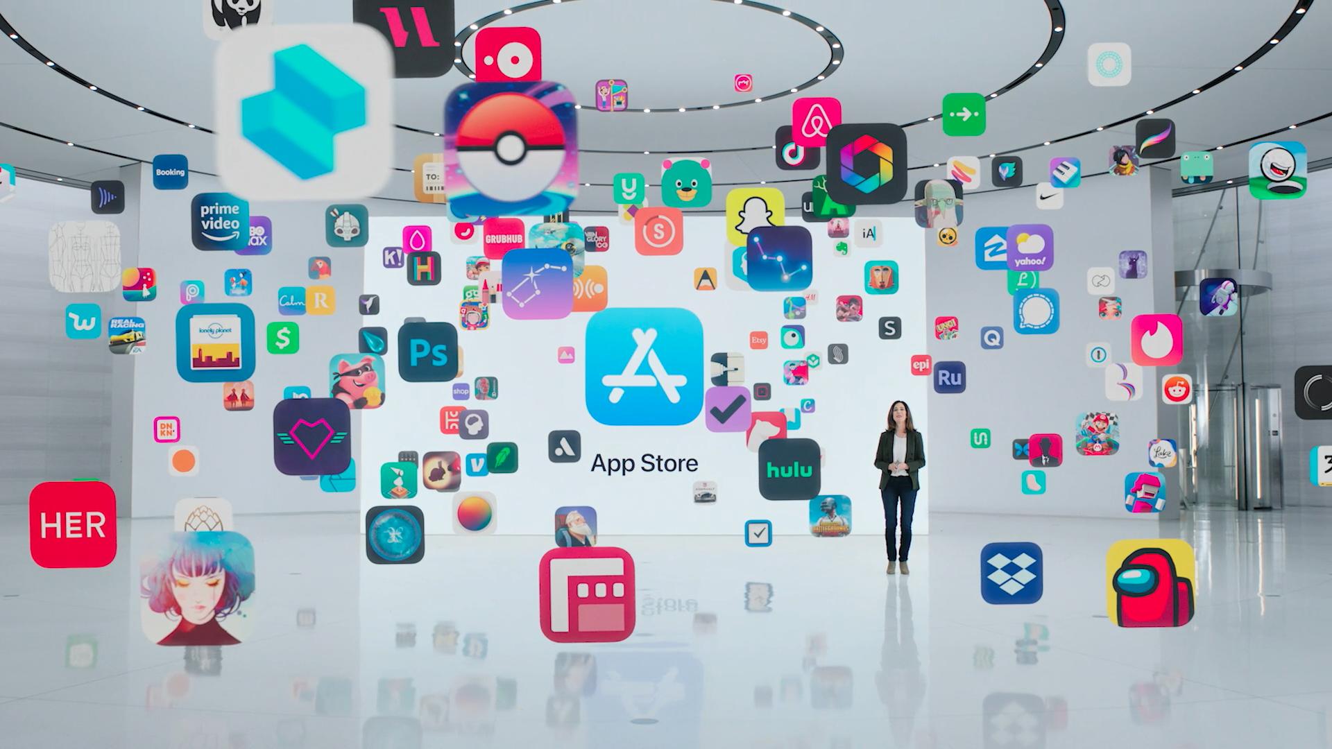 WWDC 2021 screenshot