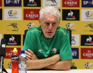 Bafana Bafana head coach Hugo Broos