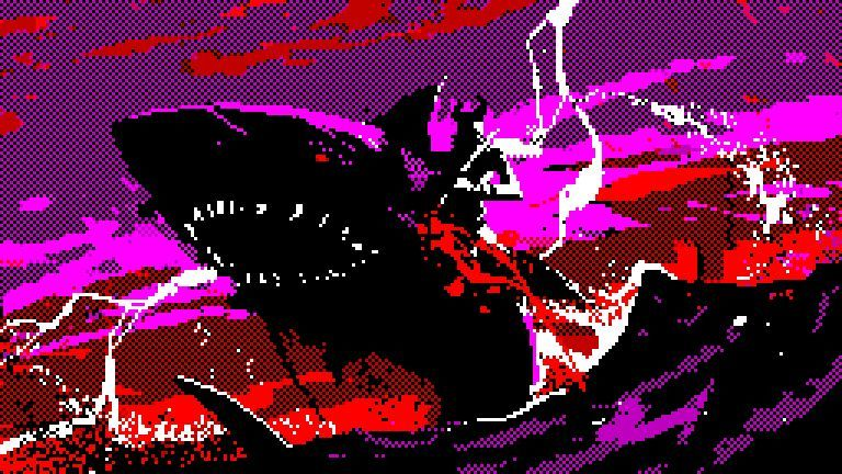 Mothmen and Shark Riders: the mind-melting fantasy of pixel-pulps