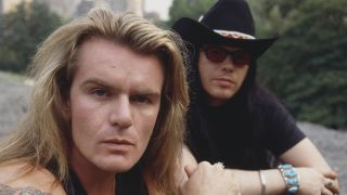 The Cult's Billy Duffy and Ian Astbury