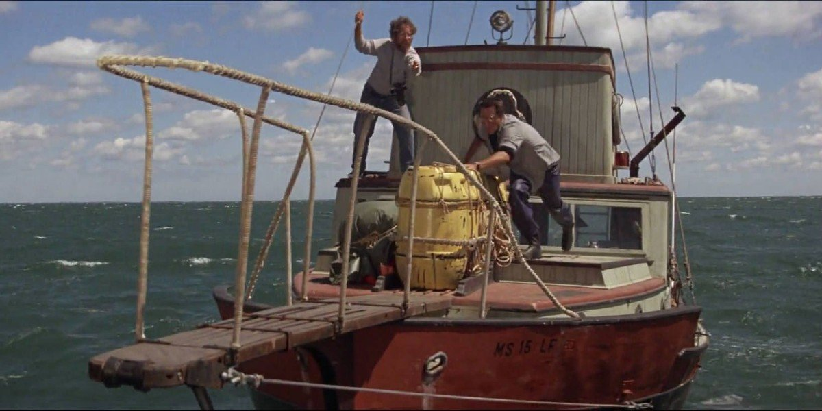 Screenshot from Jaws (1975)