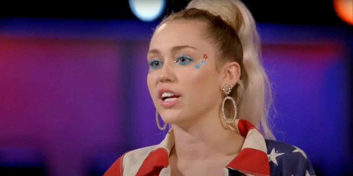 Miley Cyrus The Voice NBC