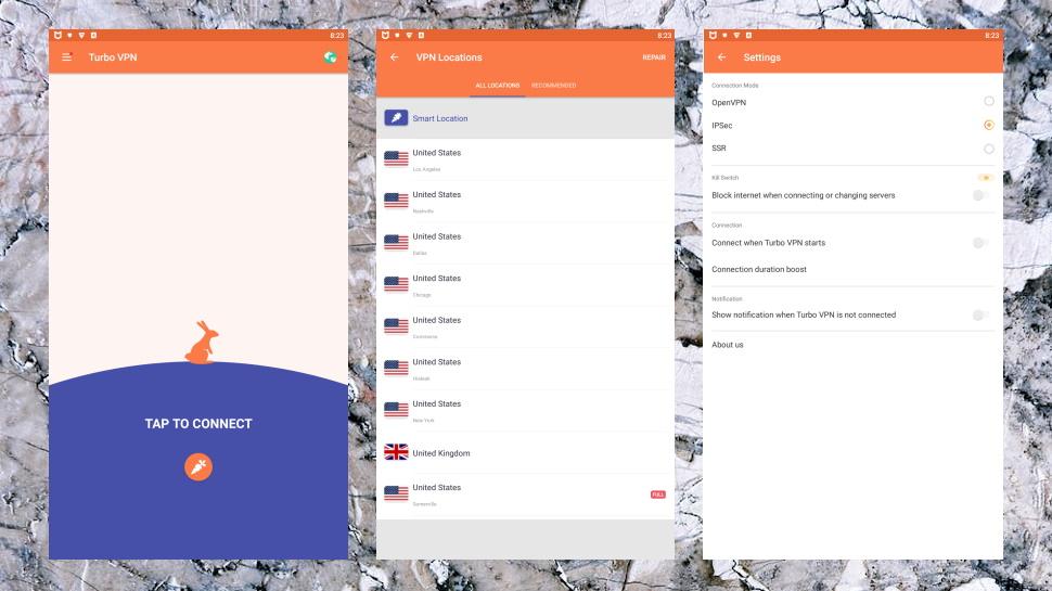 Turbo VPN Android App
