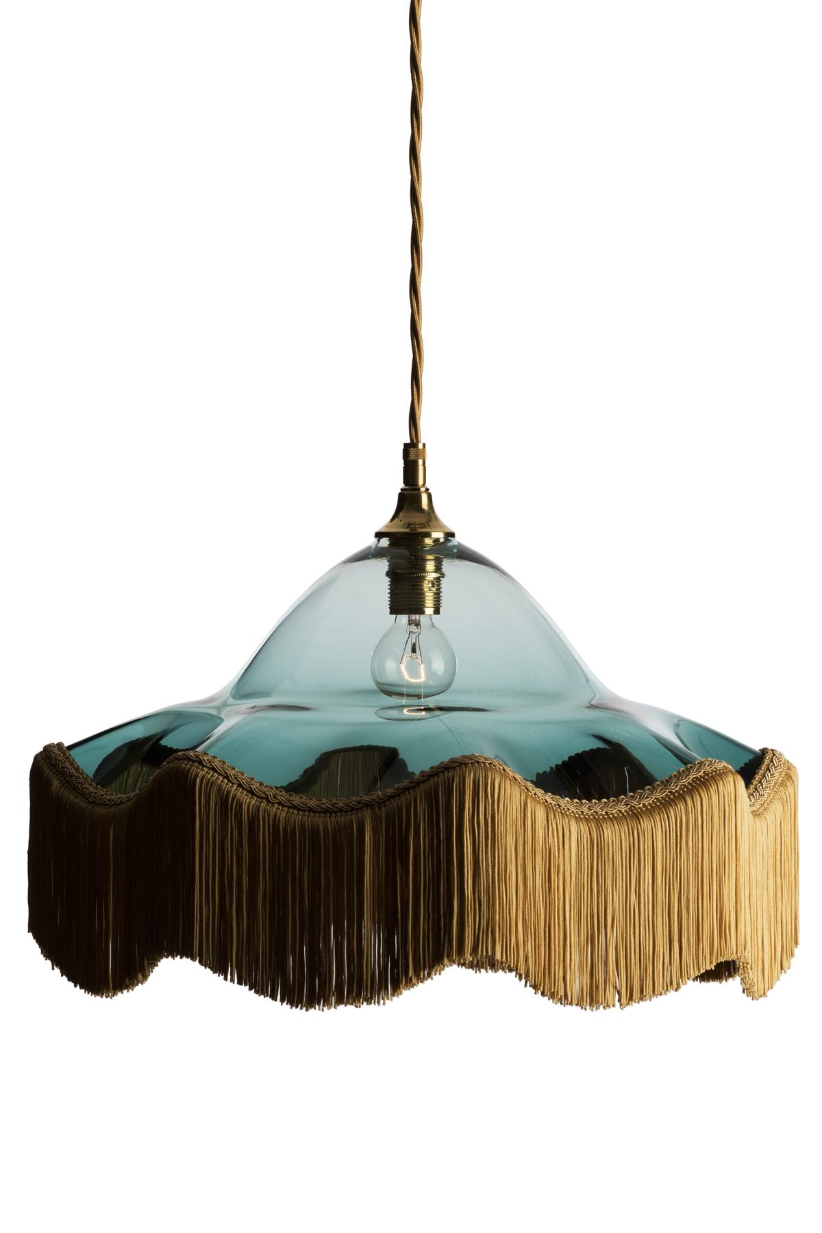 FRINGE BENEFITS: THE LATEST TASSELED LAMPS | Livingetc