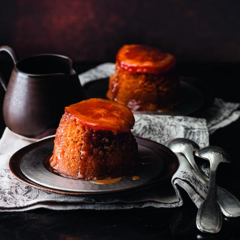 Marmalade and Whisky Puddings