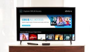 CBS All Access on Xfinity X1