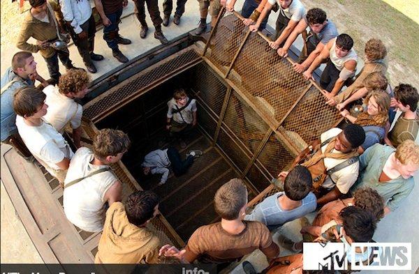 Maze Runner Elevator