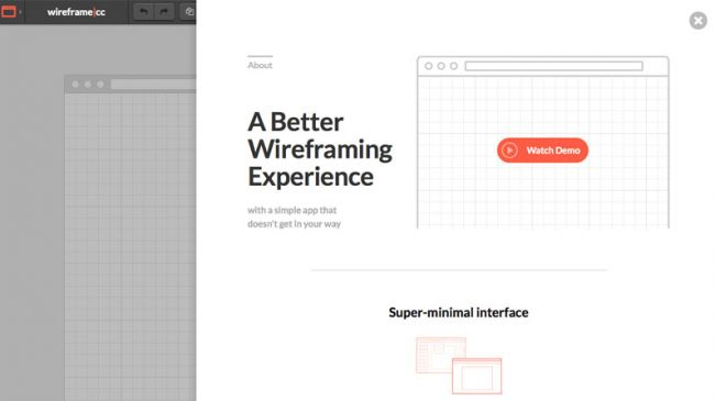 Wireframe tools: Wireframe cc