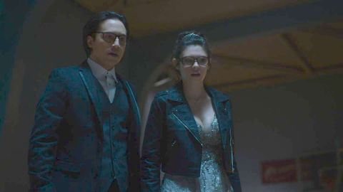 Jesse Rath and Nicole Mains in Supergirl's Prom Again!