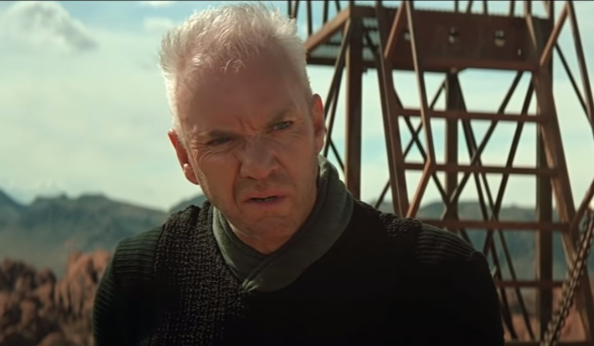 Star Trek Generations Dr. Soran is confused on the launch pad
