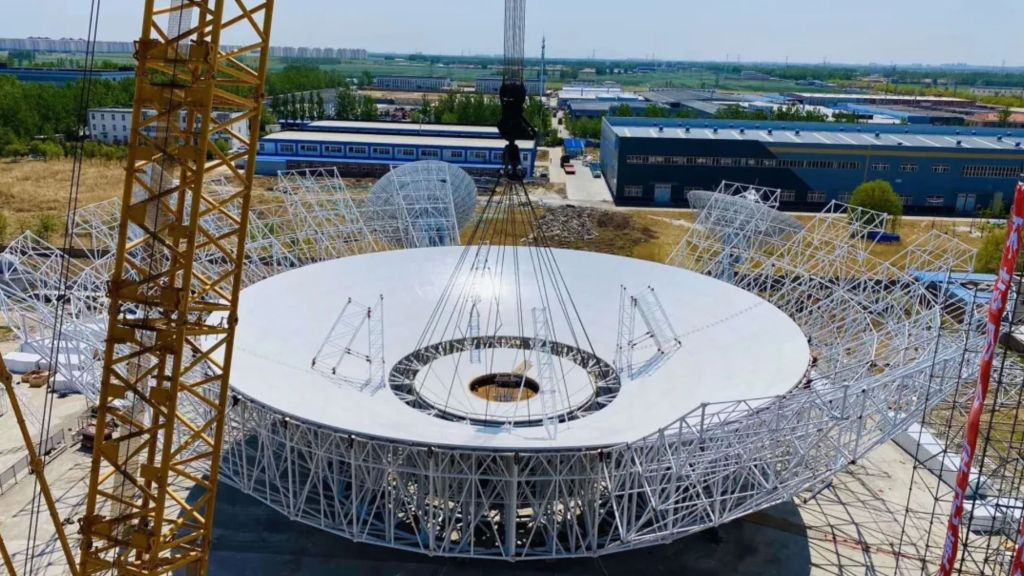 Huge antenna ready to support China's Tianwen-1 Mars mission