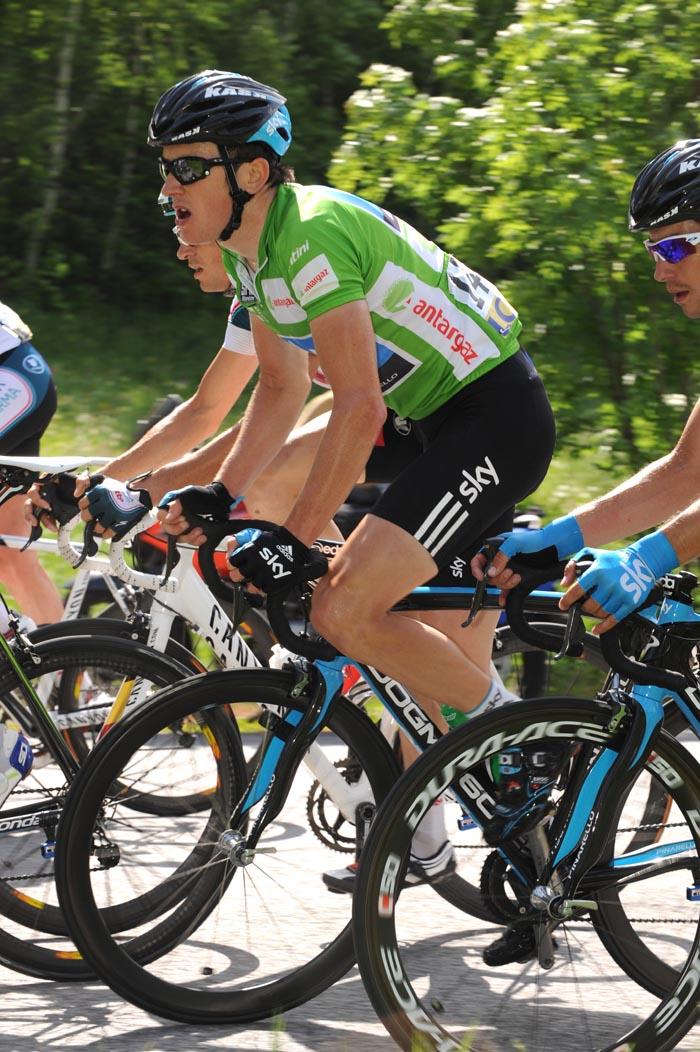 Geraint Thomas, Criterium du Dauphine 2010, stage 4