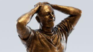 Elon Musk statue