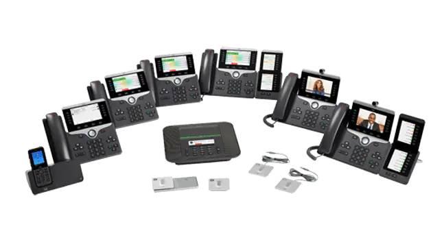 Cisco IP Phone 8800 range