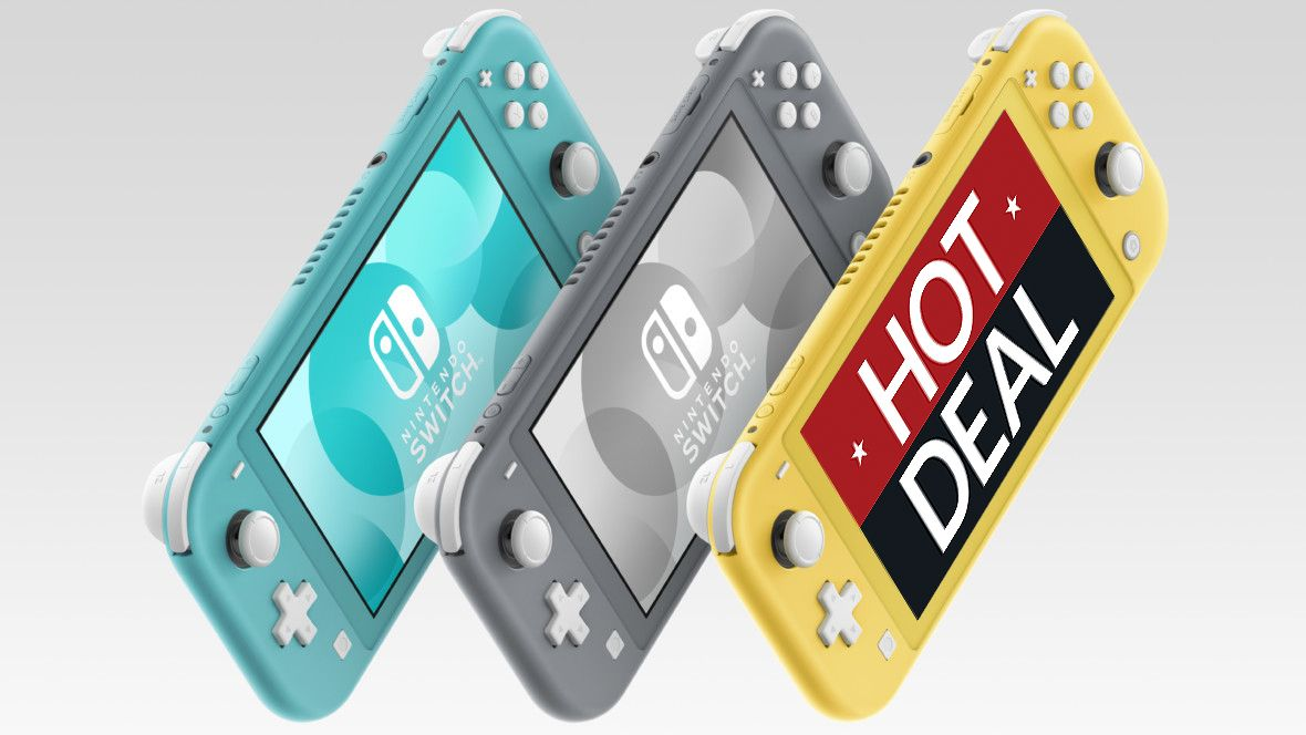 Nintendo Switch Lite plunges down to Black Friday price point