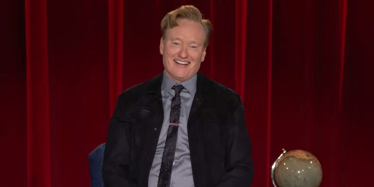 Conan O'Brien on the last episode of Conan on TBS