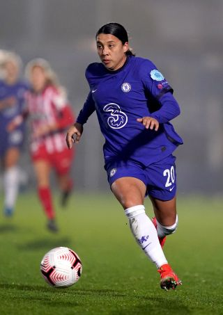 Chelsea v Atletico Madrid – Women's UEFA Champions League – Round of 16 – First Leg – Kingsmeadow Stadium