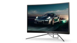 The Porsche Design AOC AGON gaming monitor