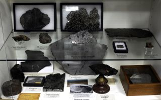 Vatican Observatory's meteorite collection