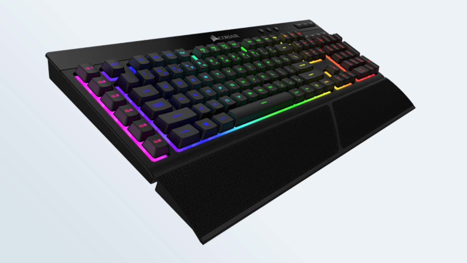 Corsair K57 RGB Wireless Keyboard Review: Colorful, But