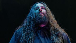A picture of Stephen Carpenter on stage