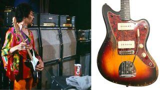 Jimi Hendrix Marshall and Fender Jazzmaster Reverb Sale
