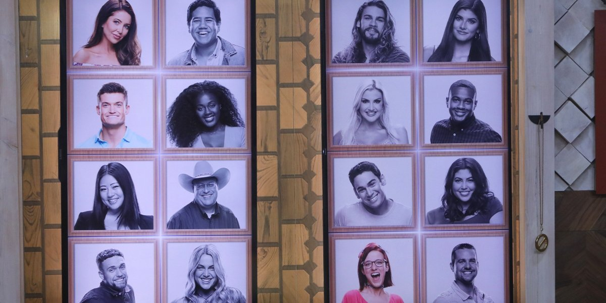 Big Brother 21 Memory Wall at Final 3 CBS