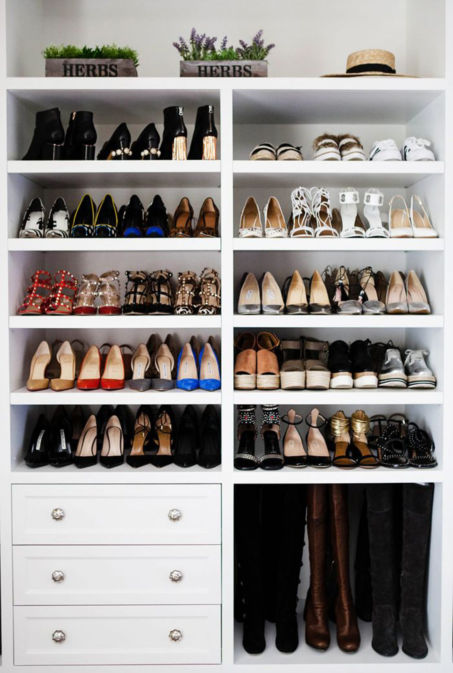 Shoe Storage Declutter Hallway And Wardrobe In One Hour Woman Home