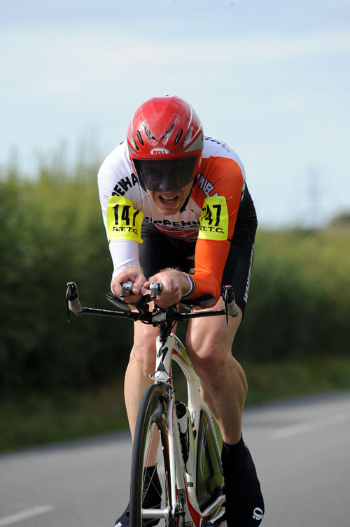 Jeff Jones, British Time Trial Championships 2009
