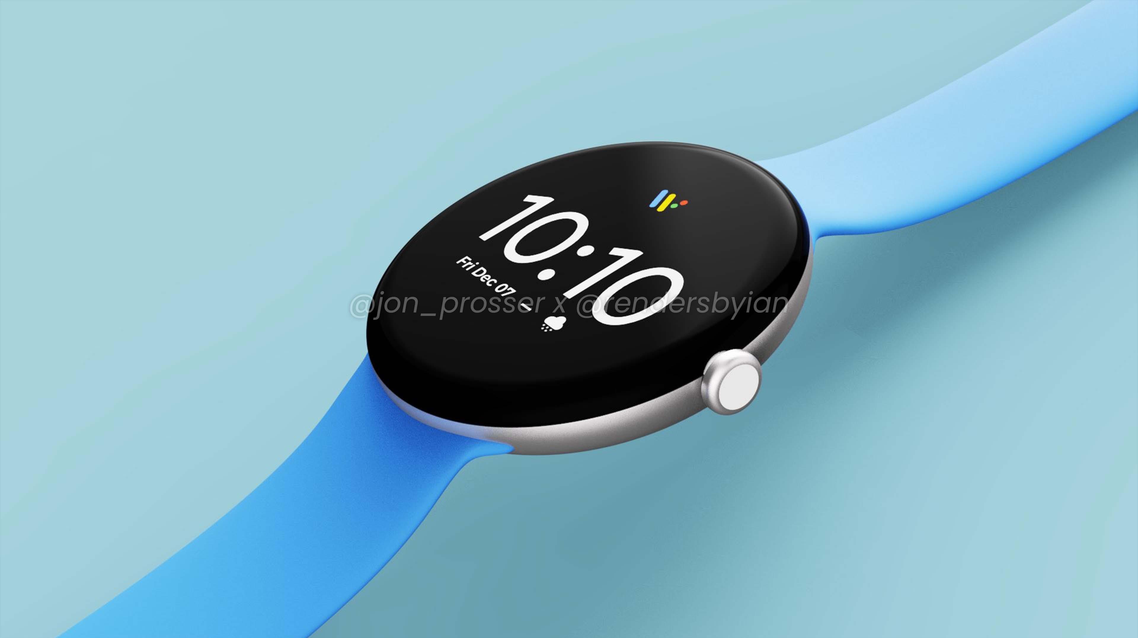 Google Pixel Watch leak