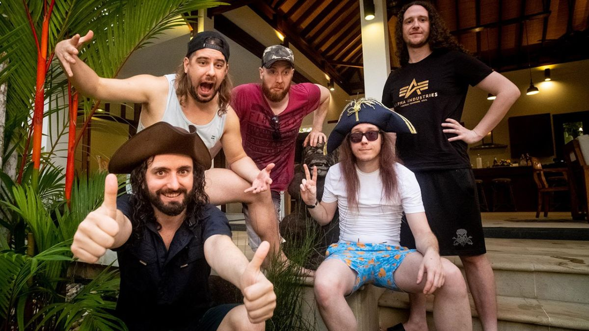 Alestorm swing back into action with Curse Of The Crystal Coconut