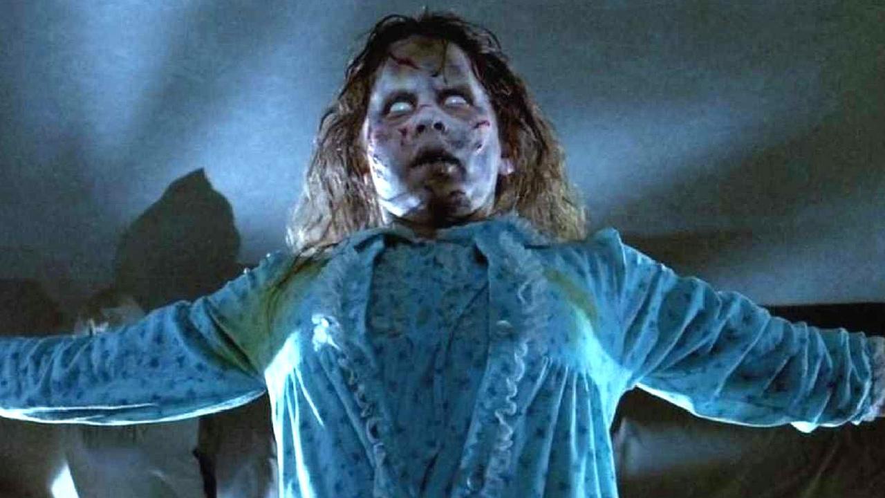 Regan in The Exorcist.