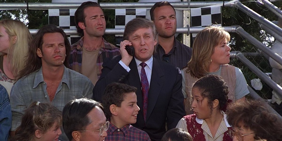 Donald Trump in The Little Rascals