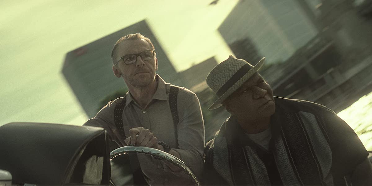 Simon Pegg and Ving Rhames in Mission: Impossible Fallout