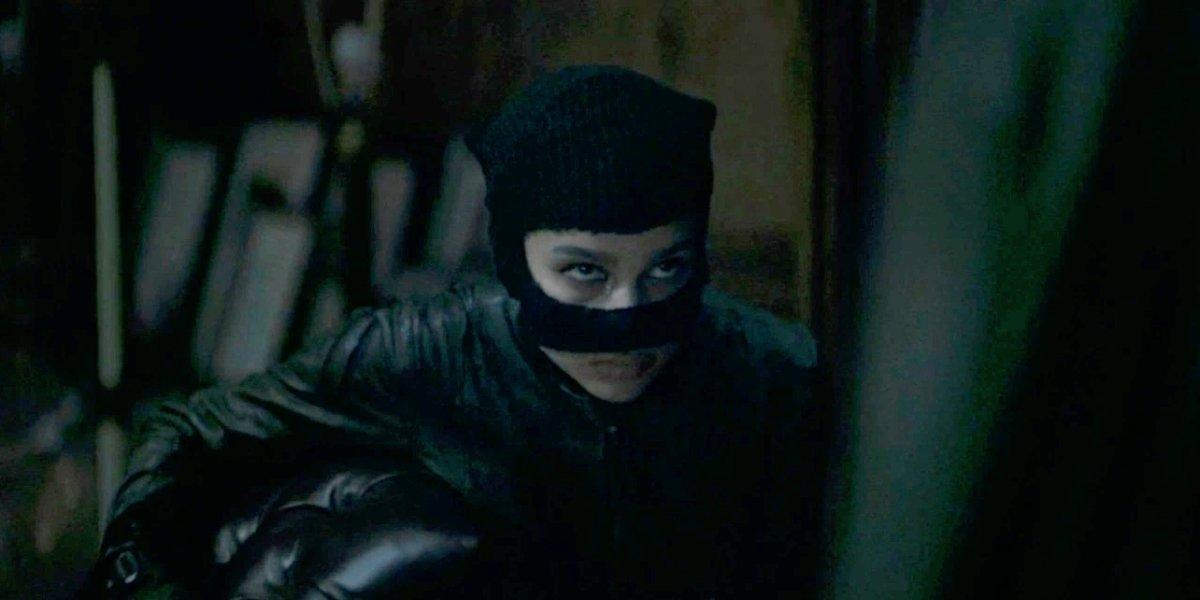 Zoë Kravitz as Catwoman in The Batman