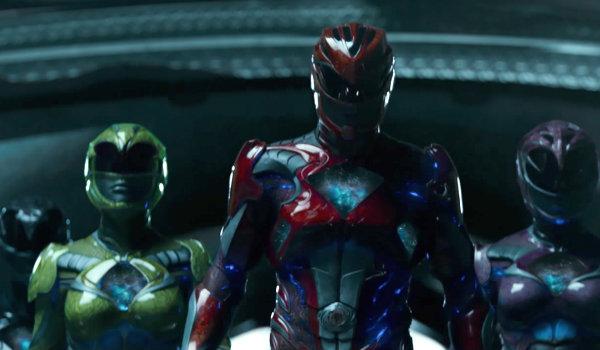 Power Rangers Morphing scene