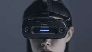 Canon MReal S1 Canon goes cyberpunk! $38,500 mixed reality headset launches in February