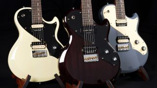 Three Shergold Provocateur electric guitars