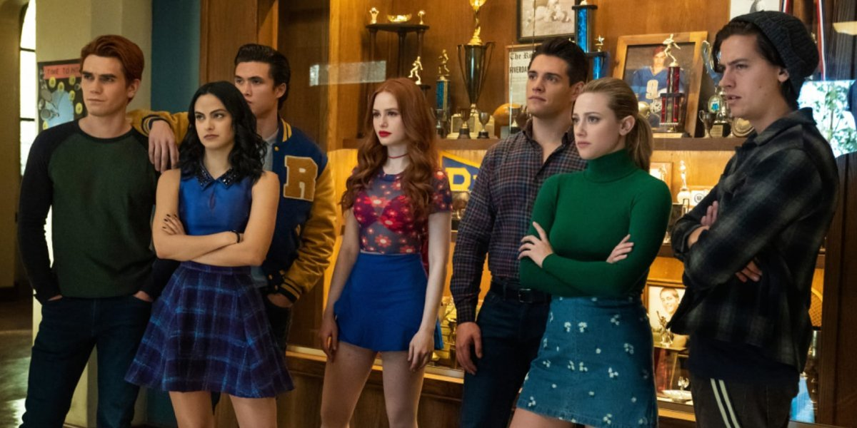 The characters of Riverdale.