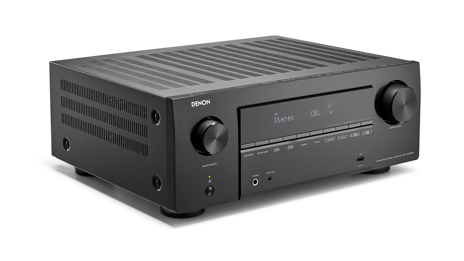 Denon AVR-x3700H 8K Receiver