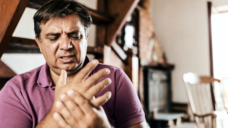 Man using the best supplements for joints