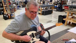 Washington luthier Mike Lull
